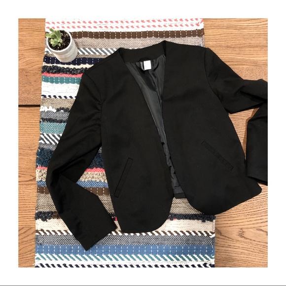 H&M Jackets & Blazers - LIKE NEW | H&M Black Blazer
